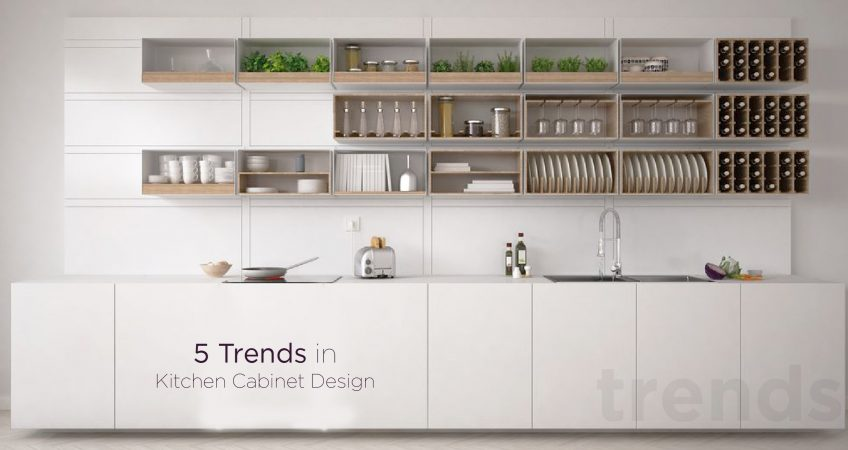 5 trends in Kitchen Cabinet Design