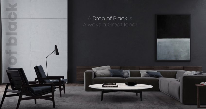 A Drop of black is always a great idea!