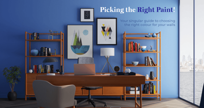 How to pick the right paint to your house?
