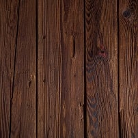 Stained wood finish