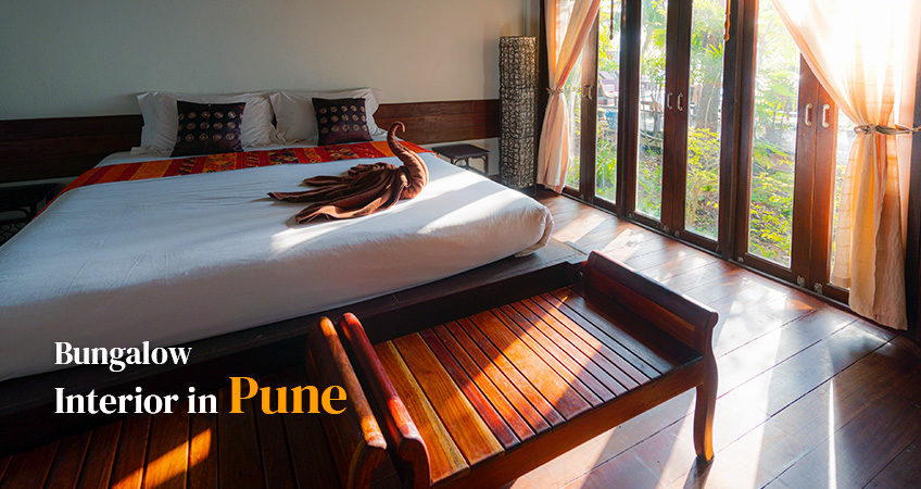 Bungalow Interiors in Pune.